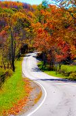 foto of sparta  - on the scenic road along north carolina blue ridge parkway - JPG