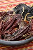 picture of chipotle chili  - delicious dried chili peppers great for mexican food and fusion cuisine - JPG