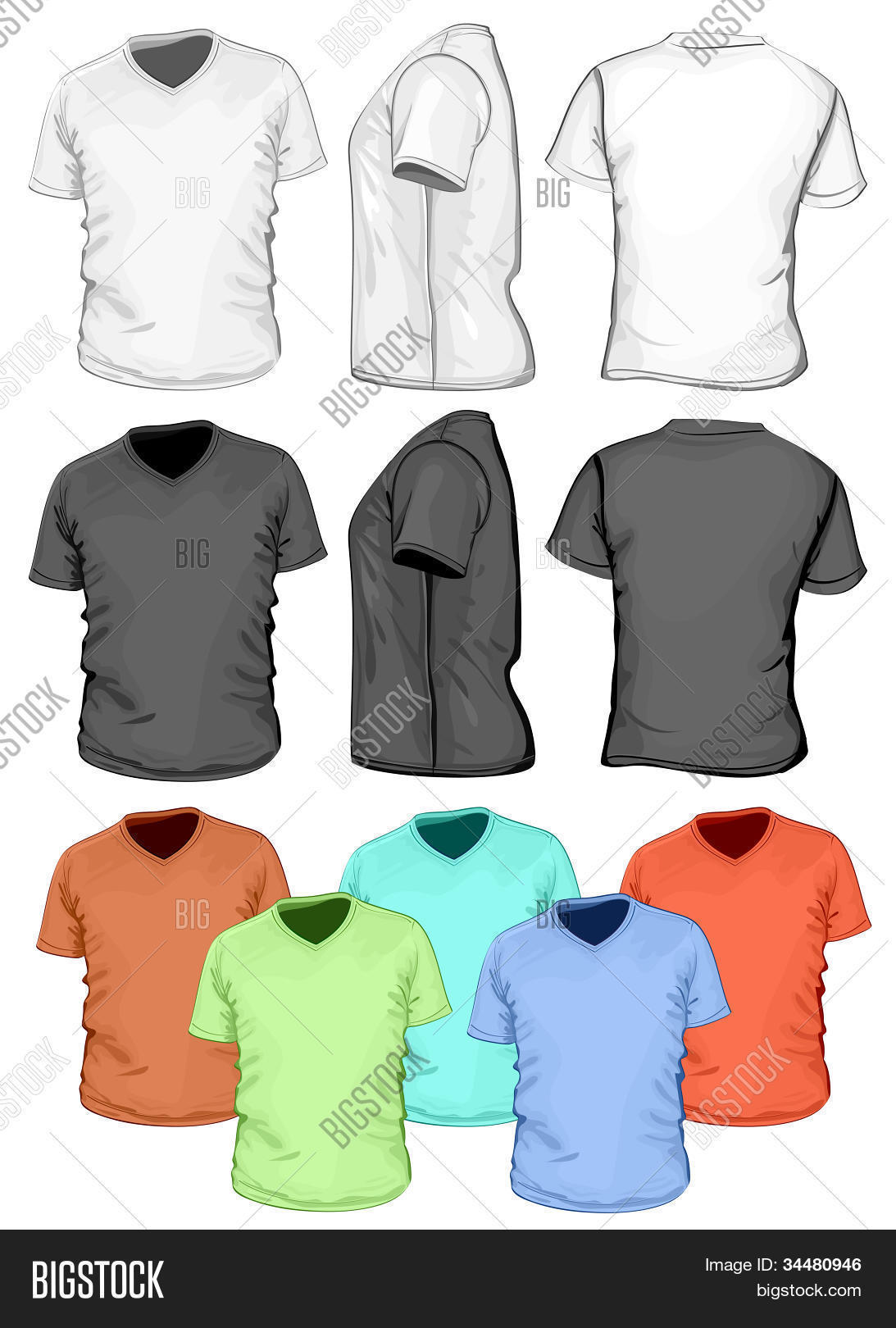 Shirt design back side