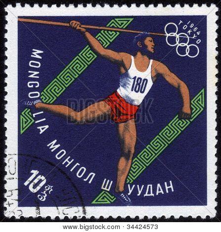 Javelin Thrower Xviii Summer Olympic Games, Tokyo, 1964