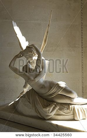 Sculpture Cupid And Psyche By Antonio Canova