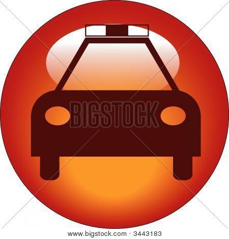 Button Car Police
