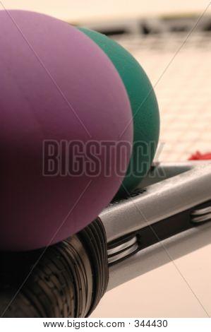 Raquetas y pelotas de raqueta