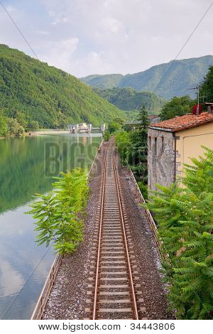 Railway Along The River