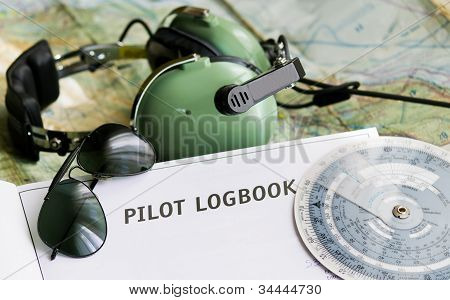 Sunglasses And Aviation Tools