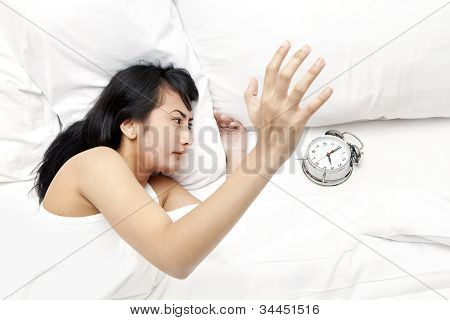 Waking Up By Alarm Clock