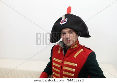 Man In Napoleonic Uniform