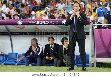 Italy National Team Head Coach Cesare Prandelli
