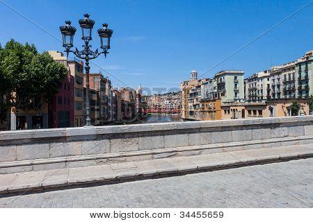 Girona / Gerona From The Bridge