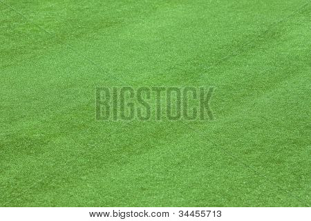 Artificial Grass Field Side View Texture