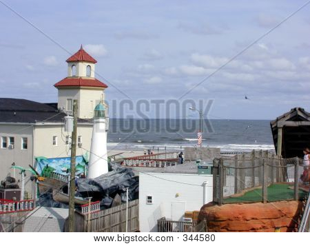 A Scene From Ocean City Nj