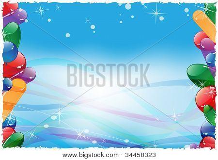 Bright Festive Balloons