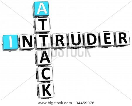 3D Attack Intruder Crossword