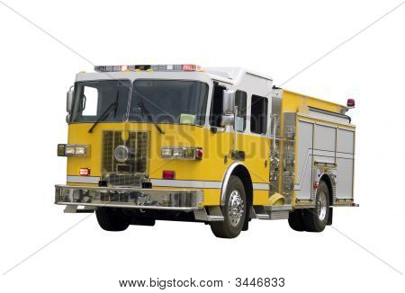 Firetruck Isolated