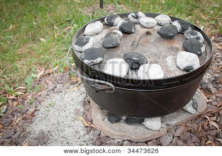 Dutch Oven Dinner Cooking