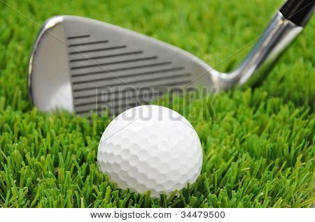 Focus On Golf Ball