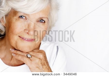 Gracious Senior Woman