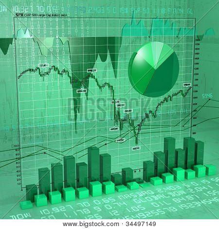 charts green