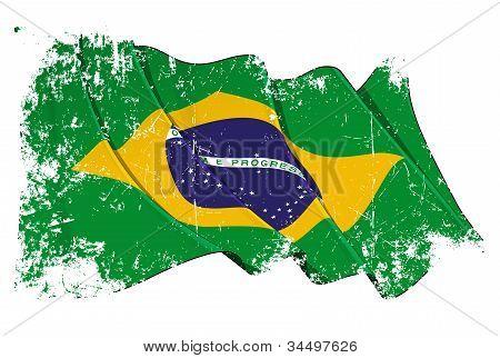 Grange Flag of Brazil