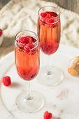 Refreshing Alcoholic Kir Royale poster