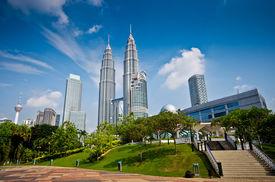 stock photo of petronas towers  - Picture of Kuala Lumpur - JPG