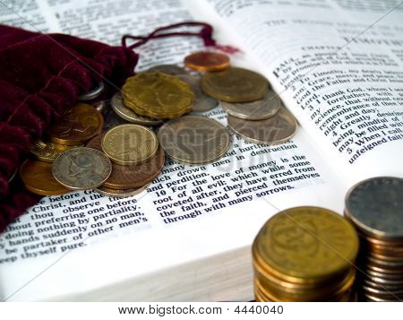 I Timothy 6:10 Love Of Money