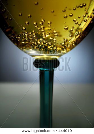 Golden Sparkling Wine