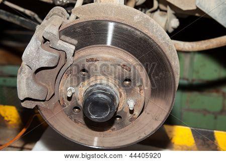 Wheel Hub Motor Car
