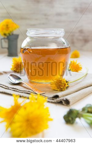 Syrup Of Dandelion's Flowers