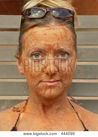 Happy Mud Face
