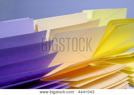 Opened Stack Of Notes
