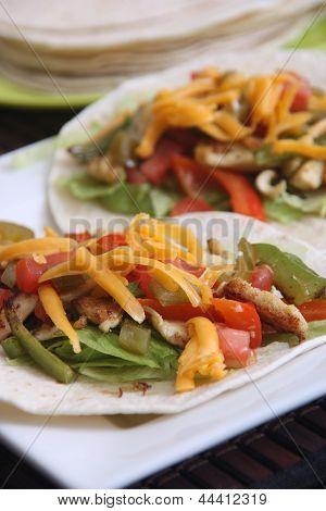 chicken taco soft shell