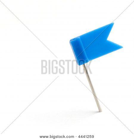 Bandeira azul um Pin