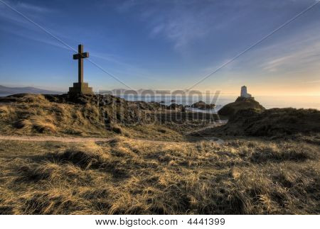 Sunset At Llanddwyn Island