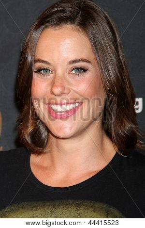 LOS ANGELES - MAY 10:  Ashley Williams arrives at the Launch of