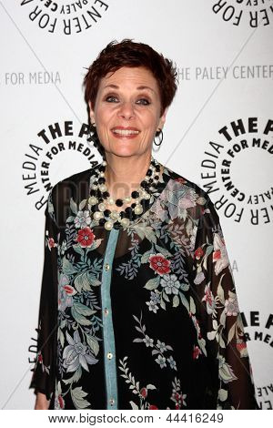 LOS ANGELES - APR 12:  Jane Elliot arrives at the General Hospital Celebrates 50 Years - Paley at the Paley Center For Media on April 12, 2013 in Beverly Hills, CA