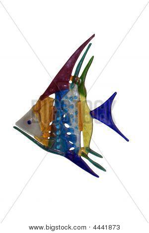 Multi-coloured Glass Fish