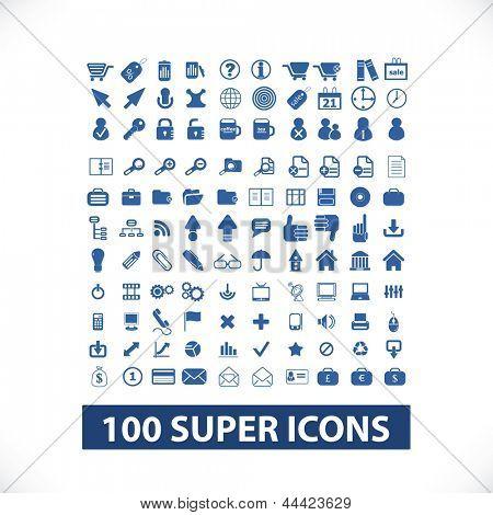 ícone de qualidade 100 (azul business ícones, web ícones, ícones de mídia, ícones da internet, ícones de celular)