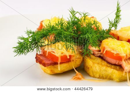 Potatoes Sandwiches