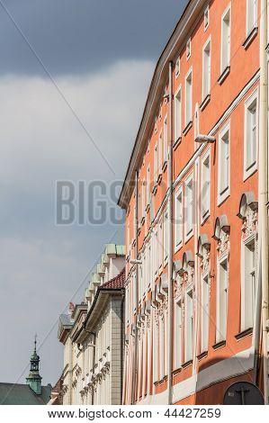 Old Town in Krakow Poland.