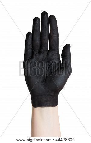 A Black Hand