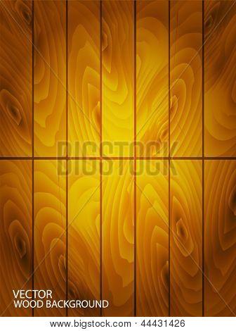 Vector wooden background.