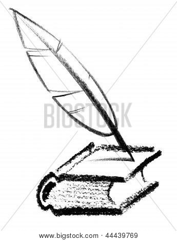 Icono de escritor