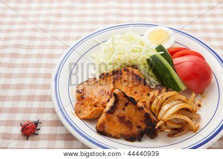 Pork Saute
