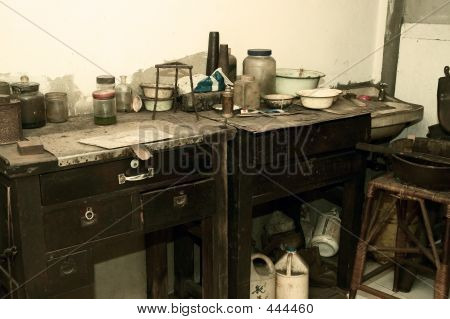 Laboratório de alquimista