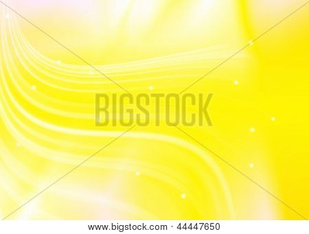 Abstract Line Glowing Texture Yellow Background