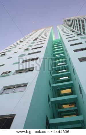Modern Tall Apartment Building - Ii