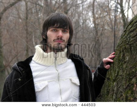 Beardman And Tree