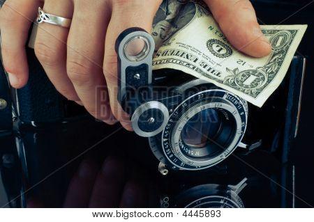 Camera  And Dollar