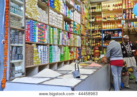 Grocery In Indian Style In Pelling
